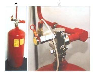 Модуль установки пожаротушения тонкораспыленной водой МПВ