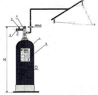 Монтажная схема модульной установки МПВ