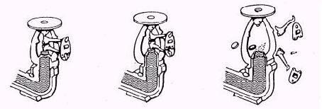 Срабатывание спринклерного оросителя